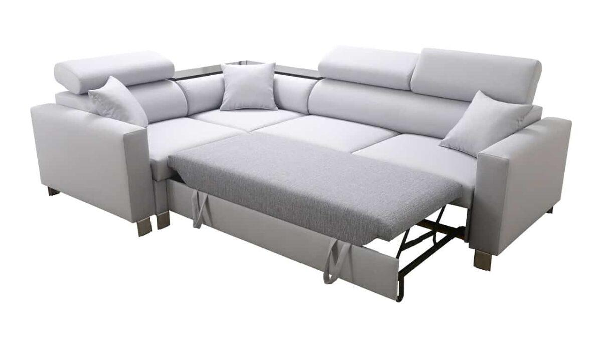 Rohová sedačka LORETI II rozloženie