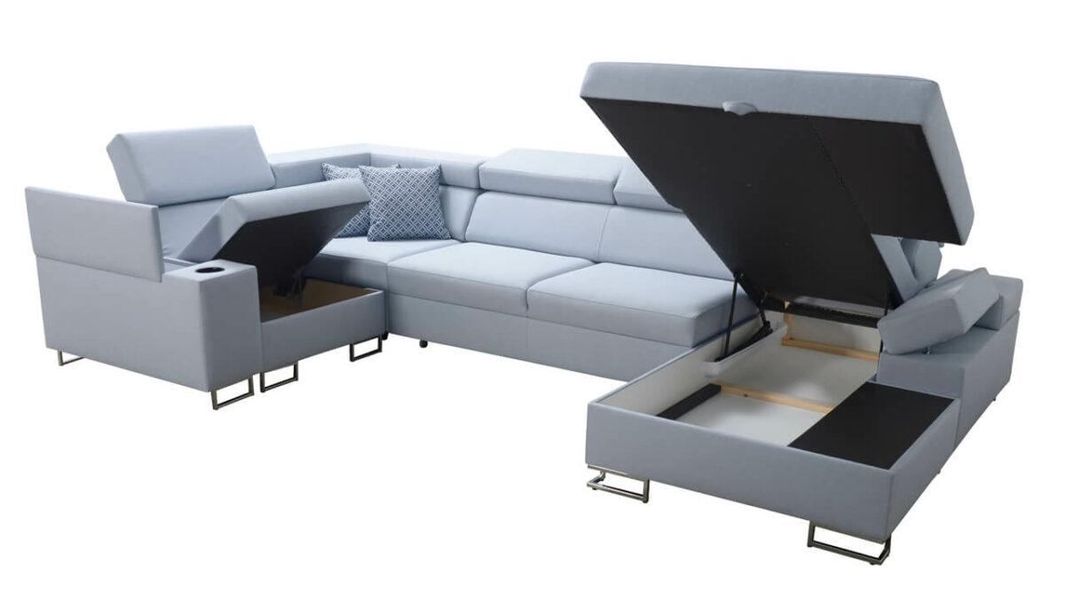 Sedací souprava SOLVADO IV MAXI Úložný prostor