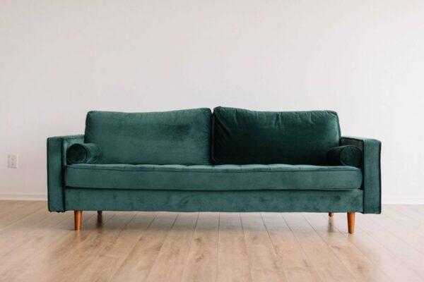 zelena sedacia suprava