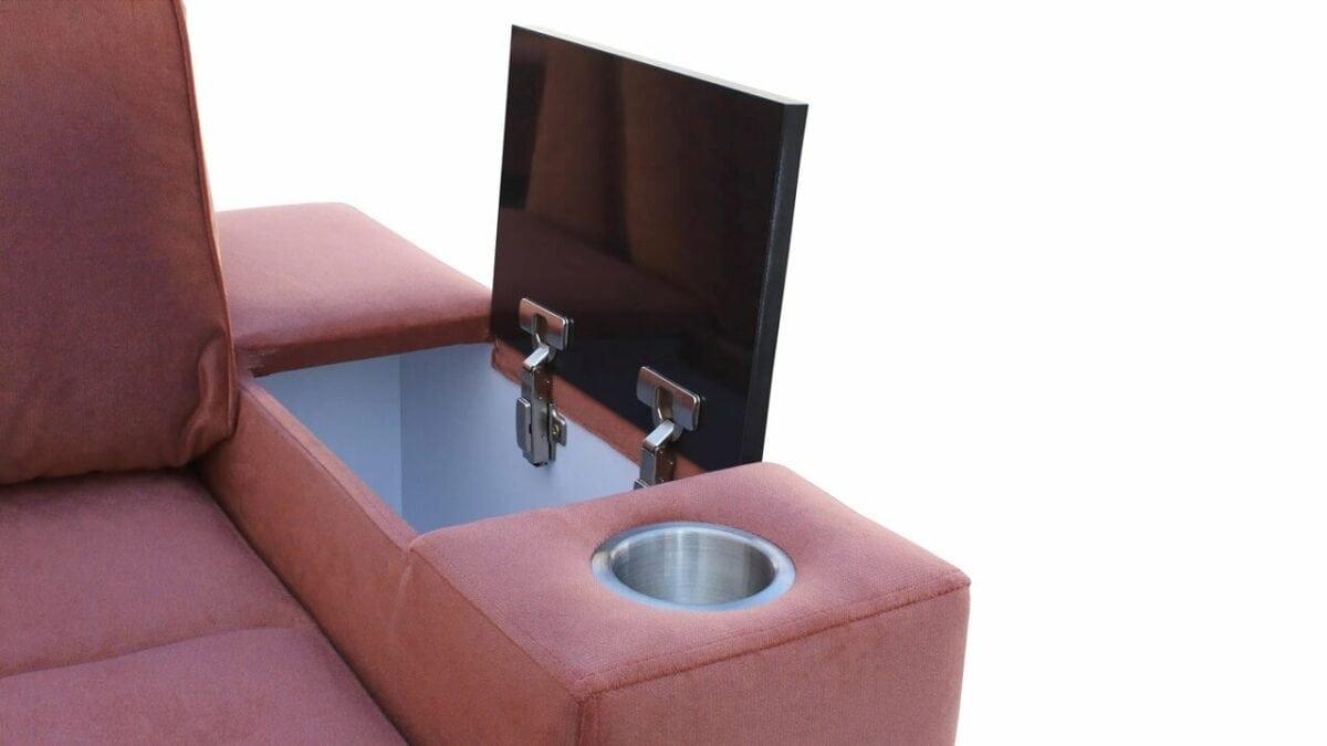 Rohová sedačka HERMOS II Minibar