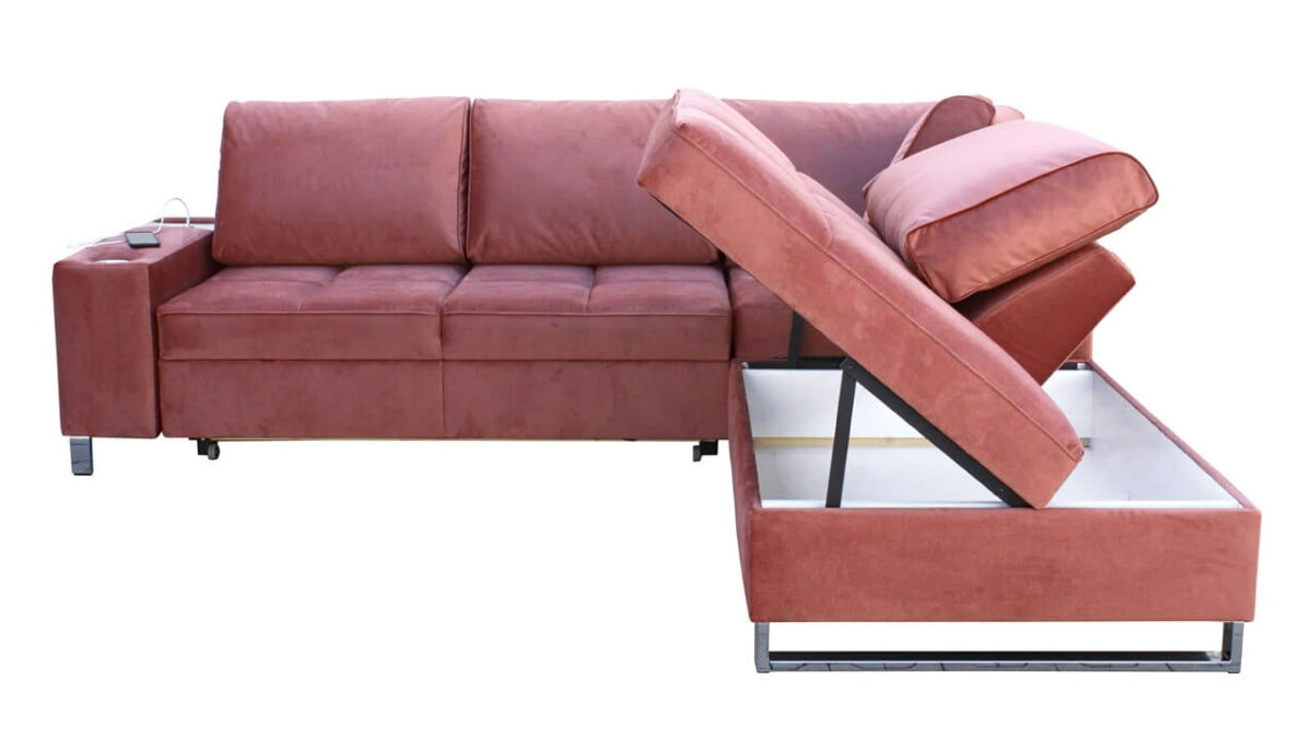rohová sedačka HERMOS VII Úložný prostor