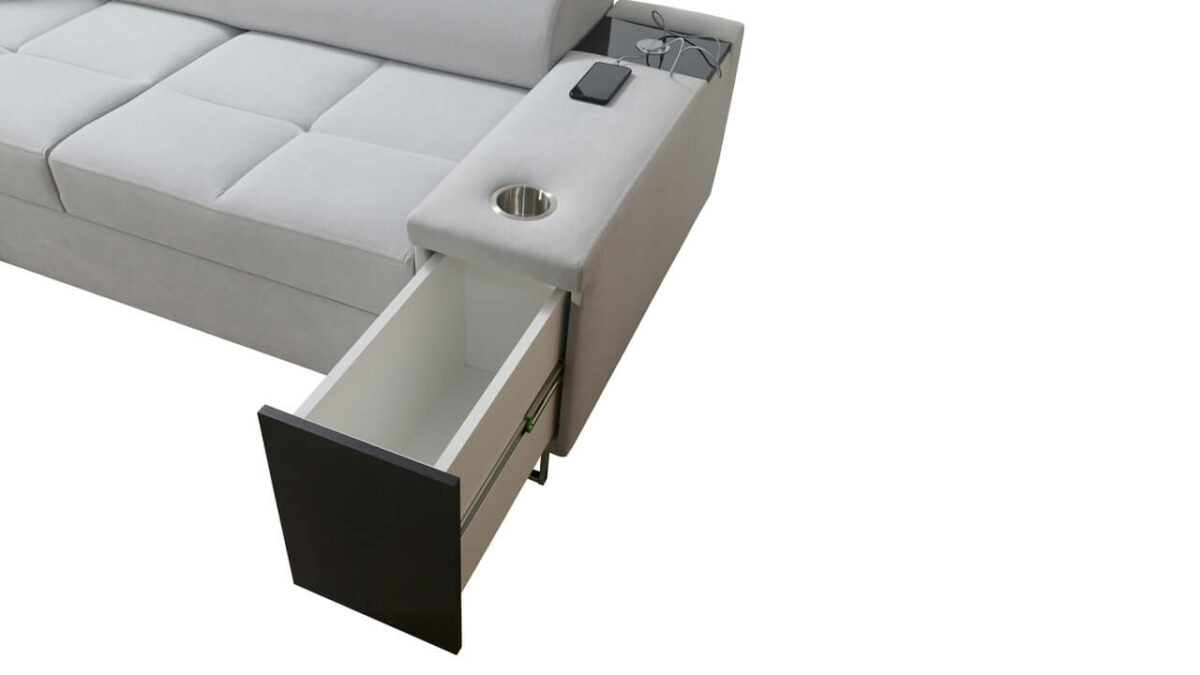 Rohová sedačka MURENA I MAXI Minibar