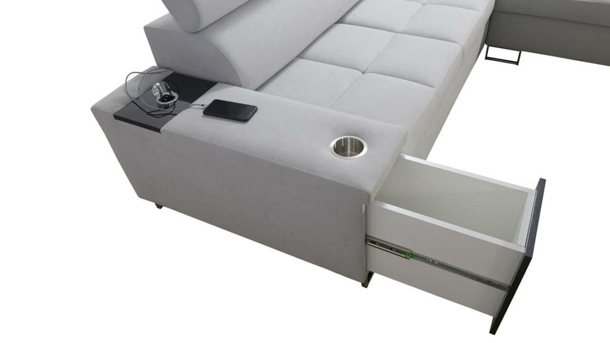 Rohová sedačka MURENA VII Minibar