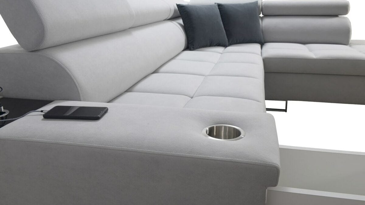 Rohová sedačka MURENA VII Detail