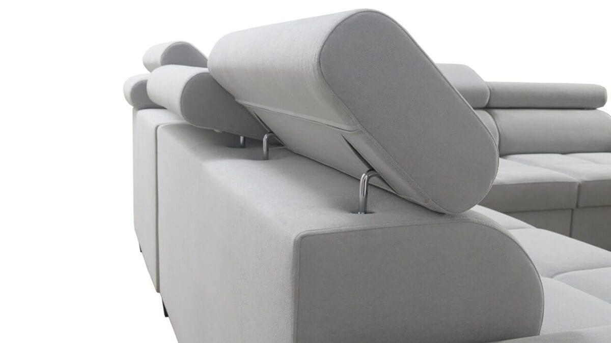 Rohová sedačka MURENA VII Opěrka hlavy