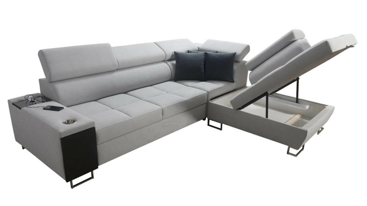Rohová sedačka MURENA VII Úložný prostor