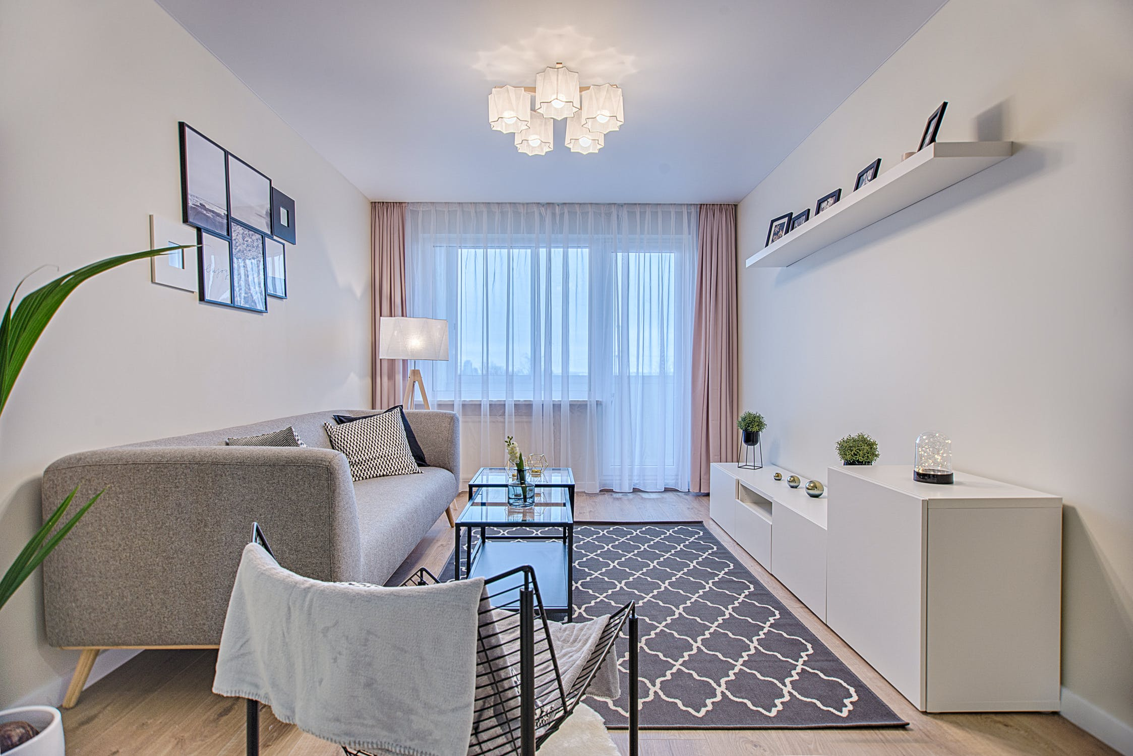 malý obývací pokoj