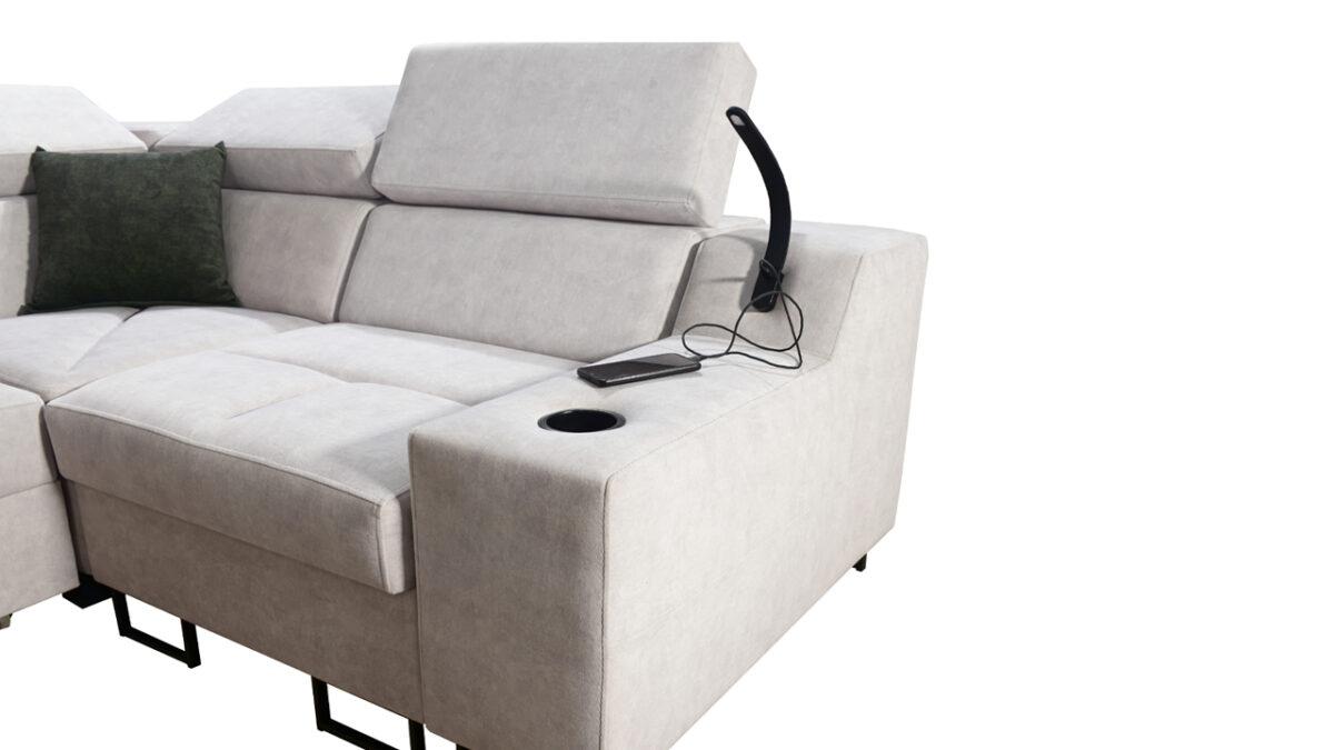 Rohová sedačka Alicanto II detail