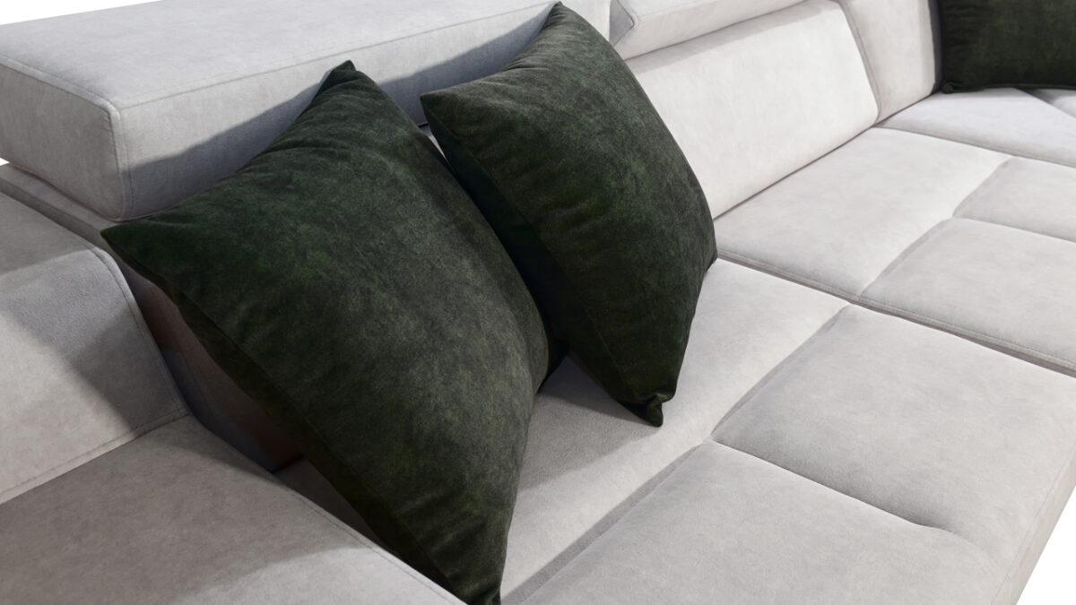 Rohová sedačka Alicanto II polštáře