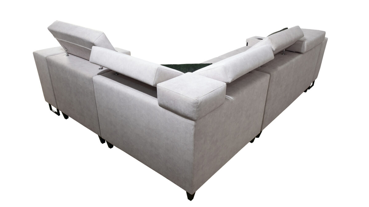 Rohová sedačka Alicanto II zezadu
