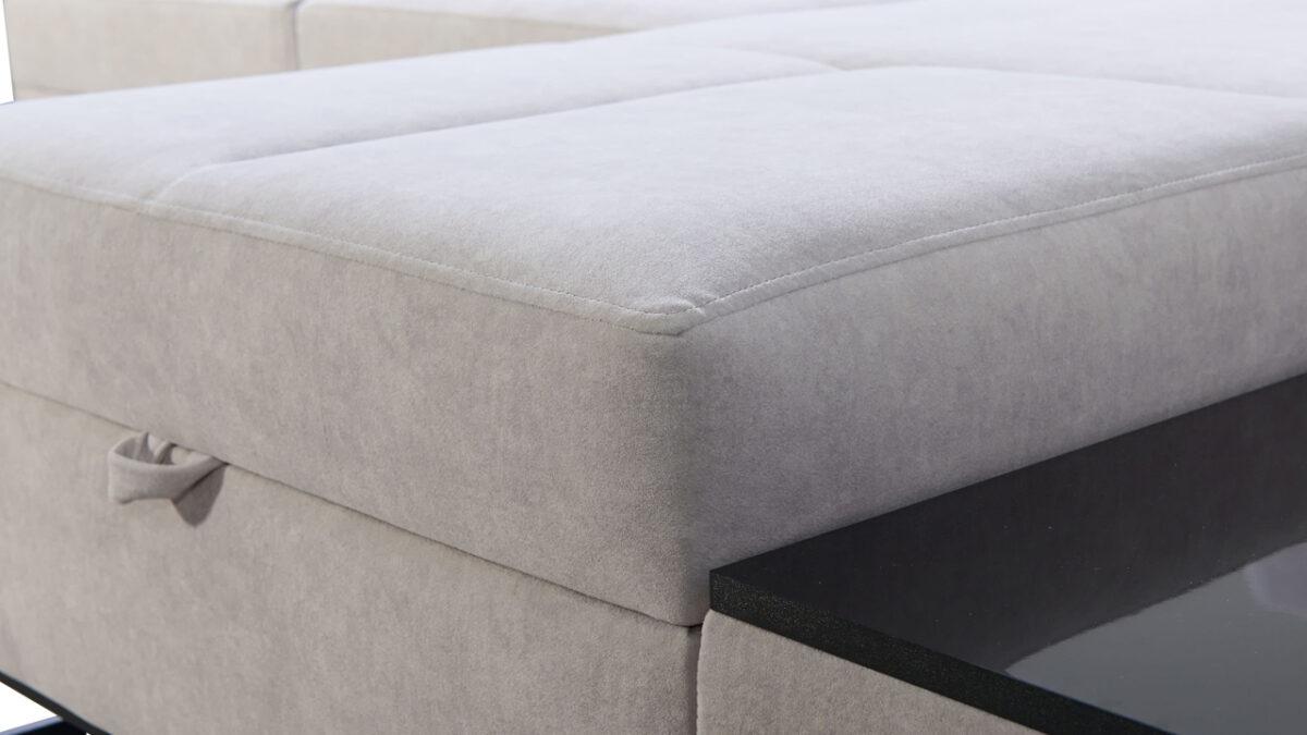 Rohová sedačka Alicanto I maxi detail sezení