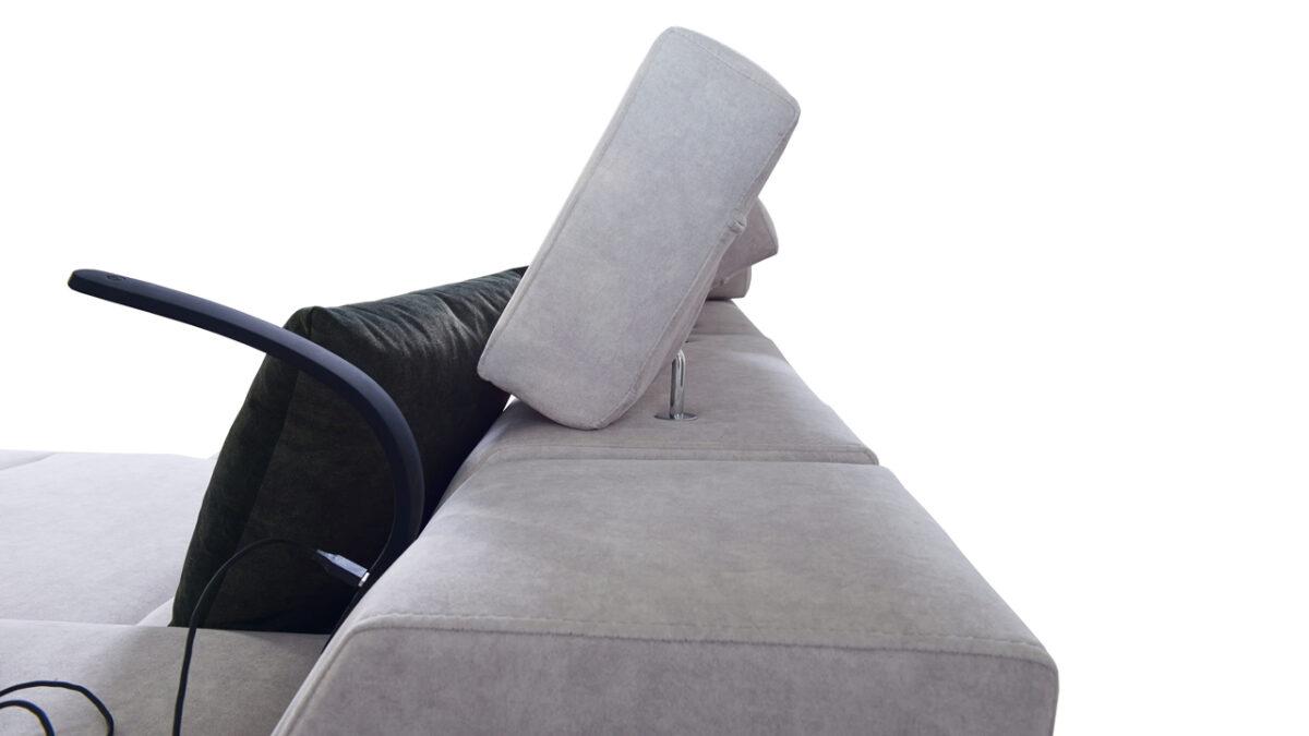 Rohová sedačka Alicanto I maxi operka hlavy