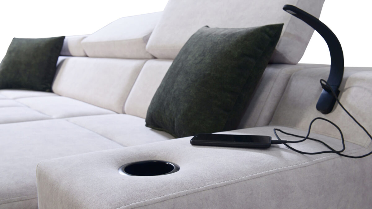 Rohová sedačka Alicanto I maxi detail
