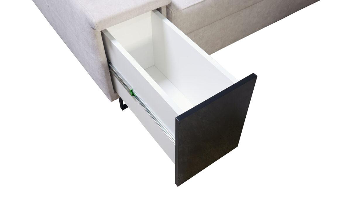 Rohová sedačka Alicanto I maxi minibar