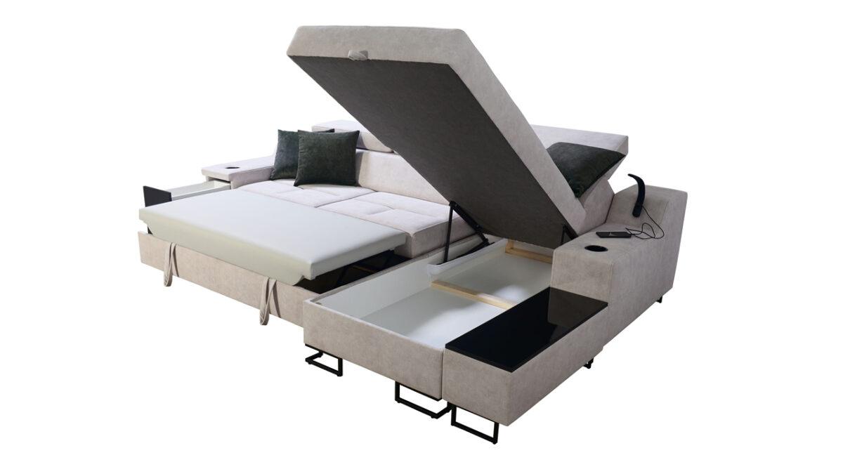 Rohová sedačka Alicanto I maxi úložný prostor