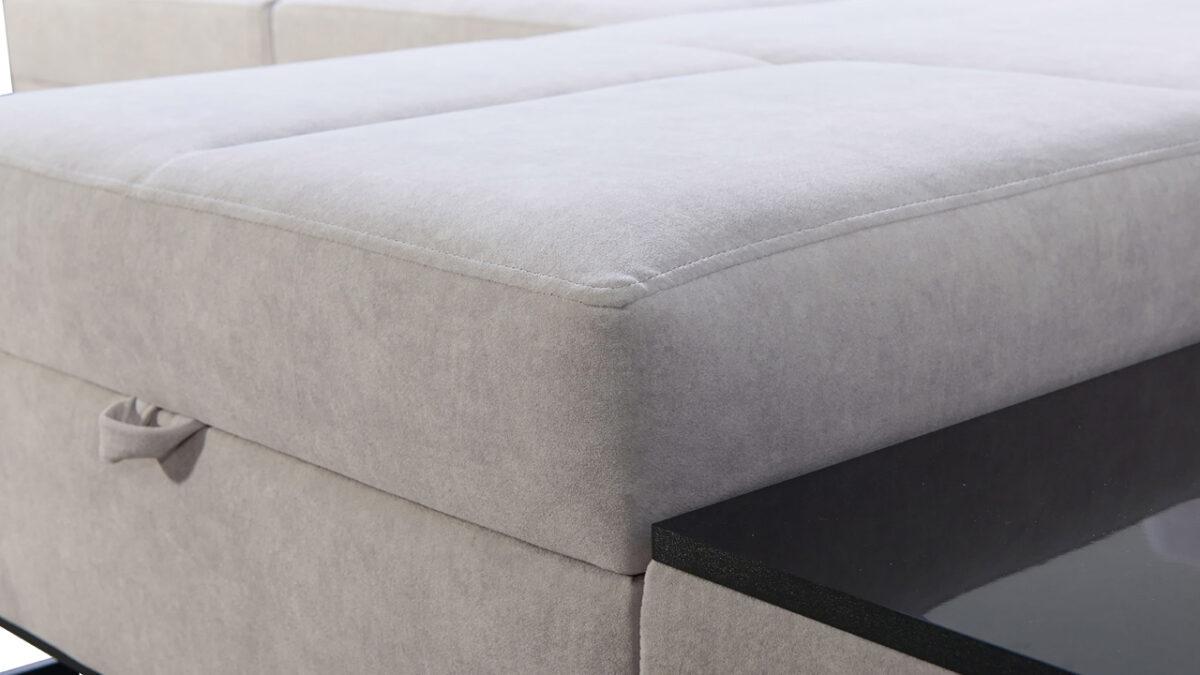 Rohová sedačka Alicanto I mini detail sezeni