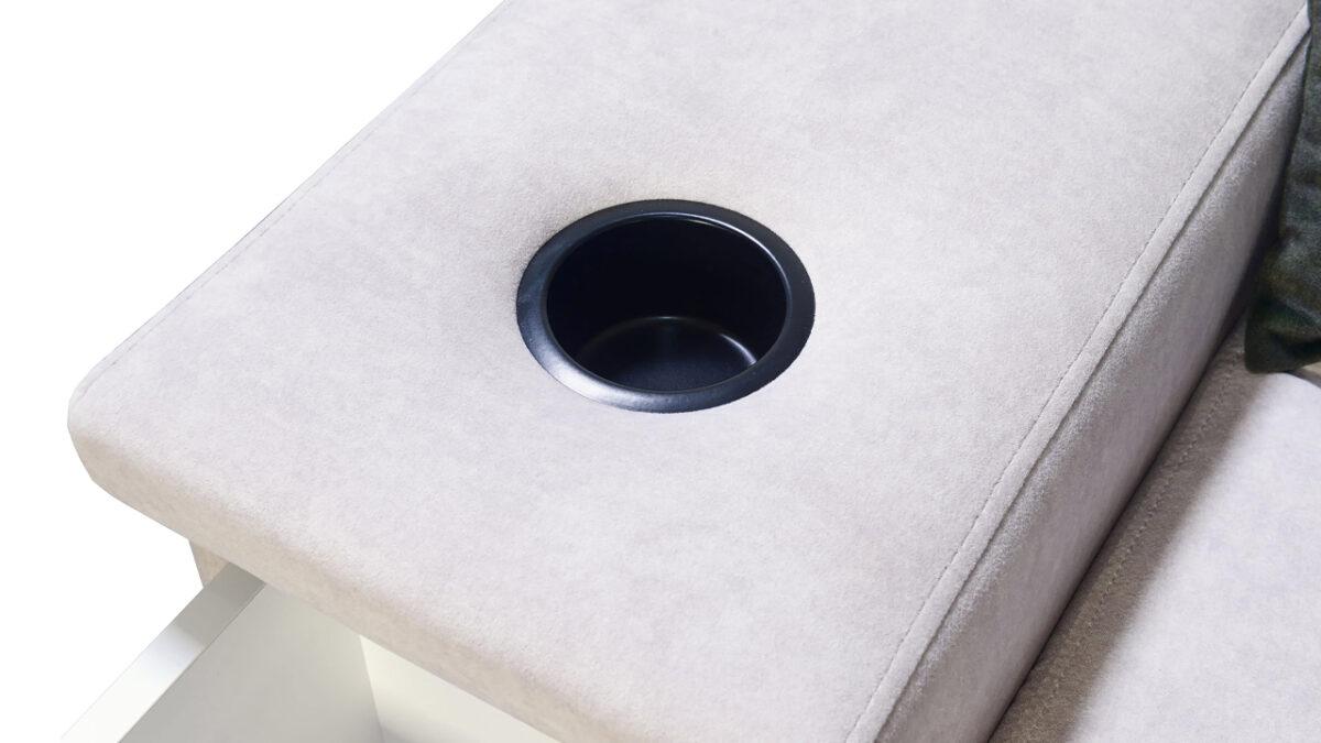 Rohová sedačka Alicanto I mini drzak na sklenice
