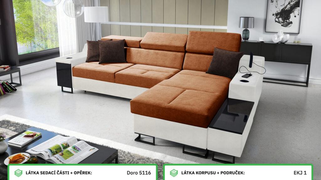 Rohová sedačka Alicanto I maxi
